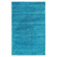 Unique Loom Calabasas Solo 3'3 x 5'3 Power-Loomed Area Rug in Turquoise