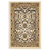 """Unique Loom Cape Cod Isfahan 2'2"""" X 3' Powerloomed Area Rug in Ivory"""