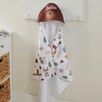 Woodland Adventure Bear Hooded Towel