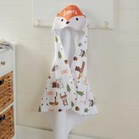 Woodland Adventure Fox Hooded Towel