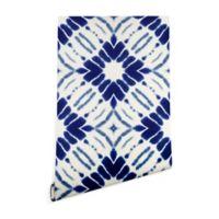 Deny Designs Jacqueline Maldonado Water Shibori 2-Foot x 8-Foot Peel and Stick Wallpaper