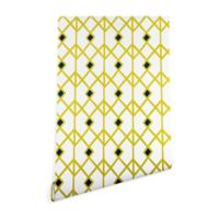 Deny Designs Heather Dutton Annika Diamond 2-Foot x 8-Foot Peel and Stick Wallpaper