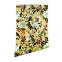 Deny Designs Marta Barragan Camarasa Floral Bouquet 2-Foot x 4-Foot Wallpaper in Yellow