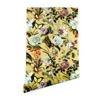 Deny Designs Marta Barragan Camarasa Floral Bouquet 2-Foot x 8-Foot Wallpaper in Yellow
