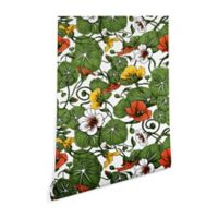 Deny Designs Marta Barragan Camarasa Flowering Garden 2-Inch x 4-Inch Peel and Stick Wallpaper