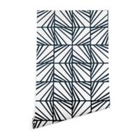 Deny Designs Heather Dutton Facets 2-Foot x 8-Foot Peel and Stick Wallpaper