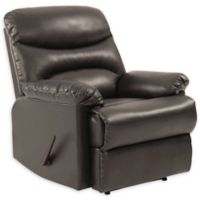 ProLounger® Wall Hugger Renu Leather Recliner in Brown