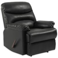 ProLounger® Wall Hugger Renu Leather Recliner in Black