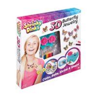 Shrinky Dinks 3D Butterfly Jewelry
