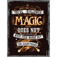 Harry Potter® 13.5-Inch x 18-InchTin Wall Art