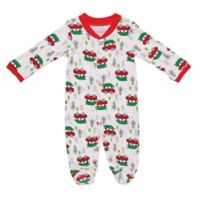 Baby Starters® Size 3M Holiday Sleep 'n Play Footie in White