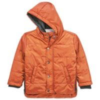 Sovereign Code™ Size 18M Puffer Jacket in Orange