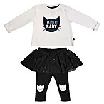 PANTST NB CAT BABY TUTU SET