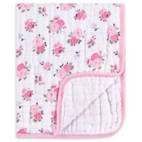 Luvable Friends® Floral Muslin Tranquility Blanket in Pink