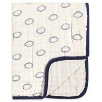 Hudson Baby® Football Muslin Tranquility Blanket