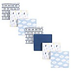Luvable Friends® 7-Pack Clouds Flannel Receiving Blankets in Blue