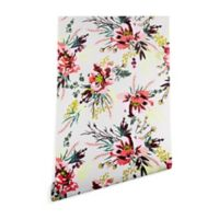 Deny Designs Holli Zollinger Poppy Wild 2-Foot x 10-Foot Peel and Stick Wallpaper