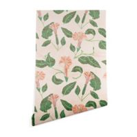 Deny Designs Holli Zollinger Desert Moonflower 2-Foot x 4-Foot Peel and Stick Wallpaper