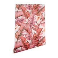 Deny Designs Marta Barragan Camarasa Paradise 2-Foot x 10-Foot Wallpaper in Pink