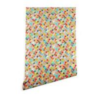 Deny Designs Sharon Turner Rashmi Ikat 2-Foot x 10-Foot Peel and Stick Wallpaper