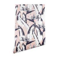 Deny Designs Marta Barragan Camarasa Botanical Bird 2-Foot x 10-Foot Peel and Stick Wallpaper