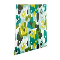 Deny Designs Heather Dutton Painted Camo 2-Foot x 8-Foot Peel and Stick Wallpaper