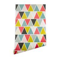 Deny Designs Heather Dutton Triangulum 2-Foot x 8-Foot Peel and Stick Wallpaper