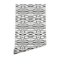Deny Designs Viviana Gonzalez Modern Improvisation 2-Foot x 8-Foot Peel and Stick Wallpaper