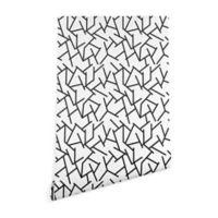 Deny Designs Holzinger Haystack 2-Foot x 8-Foot Peel and Stick Wallpaper