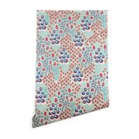 Deny Designs Holli Zollinger Liberty Natural 2-Foot x 10-Foot Wallpaper in Blue