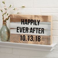 Expressions 8-Inch x 12-Inch Reclaimed Wood Wall Sign