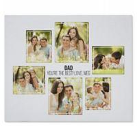 Six Photo Collage 50-Inch x 60-Inch Sweatshirt Blanket