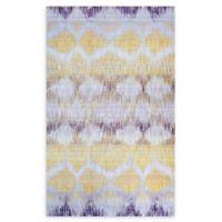 Couristan® Xanadu Durango 8'6 x 12'11 Accent Rug in Yellow
