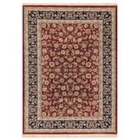 Dynamic Rugs Tehran Traditional 2'2 x 4'3 Accent Rug in Red