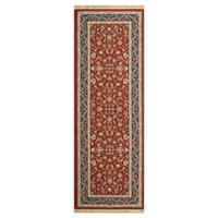 Dynamic Rugs Tehran Traditional 2'9 x 8'2 Runner in Red