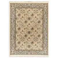 Dynamic Rugs Persia Damask 2'2 x 4'3 Accent Rug in Linen