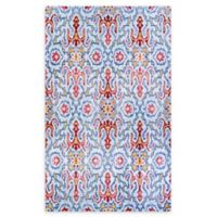 Couristan® Xanadu Puebla 5'3 x 7'2 Accent Rug in Light Blue