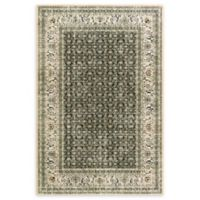 """Dynamic Rugs® Old World 2'2"""" X 4'3"""" Powerloomed Area Rug in Navy"""