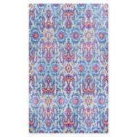 Couristan® Xanadu Puebla 2' x 3'7 Accent Rug in Red/Blue