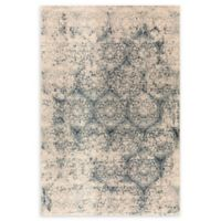 """Dynamic Rugs® Old World 2'2"""" X 4'3"""" Powerloomed Area Rug in Blue"""