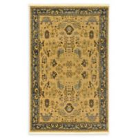 Unique Loom Bluebell Heritage 5' x 8' Area Rug in Tan