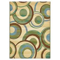 Eden 4' x 6' Indoor/Outdoor Area Rug in Beige