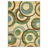Eden 5' x 8' Indoor/Outdoor Area Rug in Beige