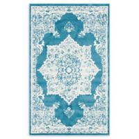 Venice Canal 5' x 8' Area Rug in Blue