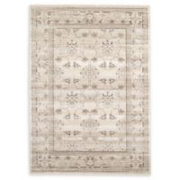 Unique Loom Botanica La Jolla 7' X 10' Powerloomed Area Rug in Ivory