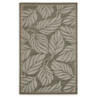 Unique Loom Transitional Seattle 5' x 8' Power-Loomed Area Rug in Grey