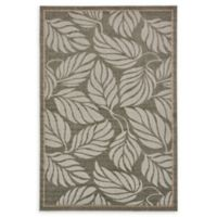 Unique Loom Transitional Seattle 6' x 9' Power-Loomed Area Rug in Grey