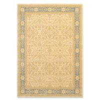 Unique Loom Aurinia Heritage 7' X 10' Powerloomed Area Rug in Cream/light Blue