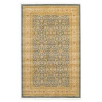 Unique Loom Aurinia Heritage 5' X 8' Powerloomed Area Rug in Blue
