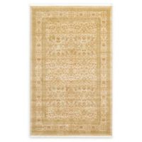 Unique Loom Aurinia Heritage 5' X 8' Powerloomed Area Rug in Cream
